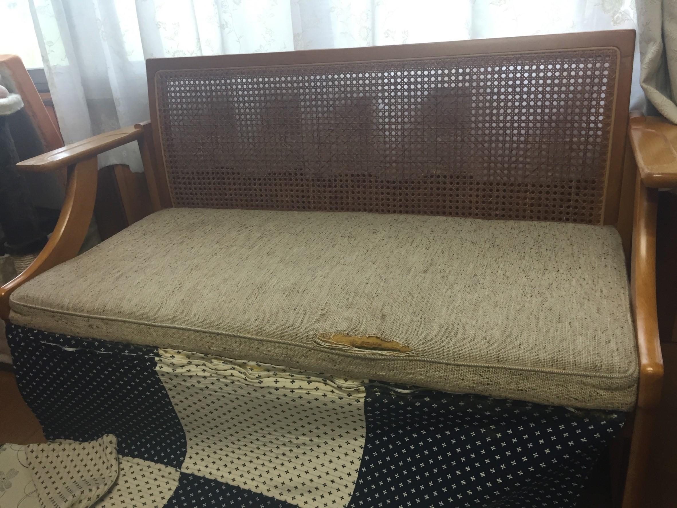 家具の修理そして…(*'ω'*)