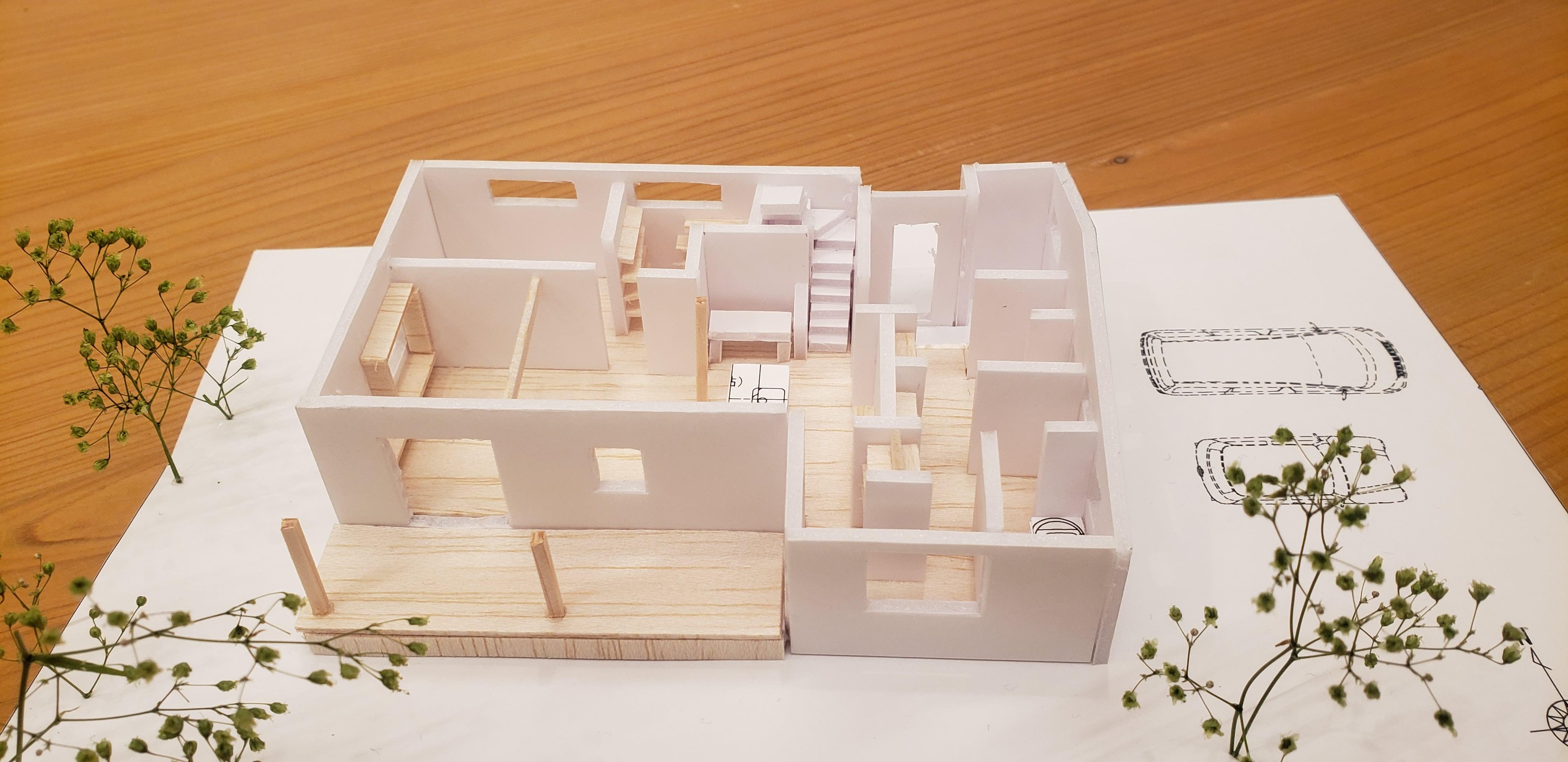 住宅模型製作