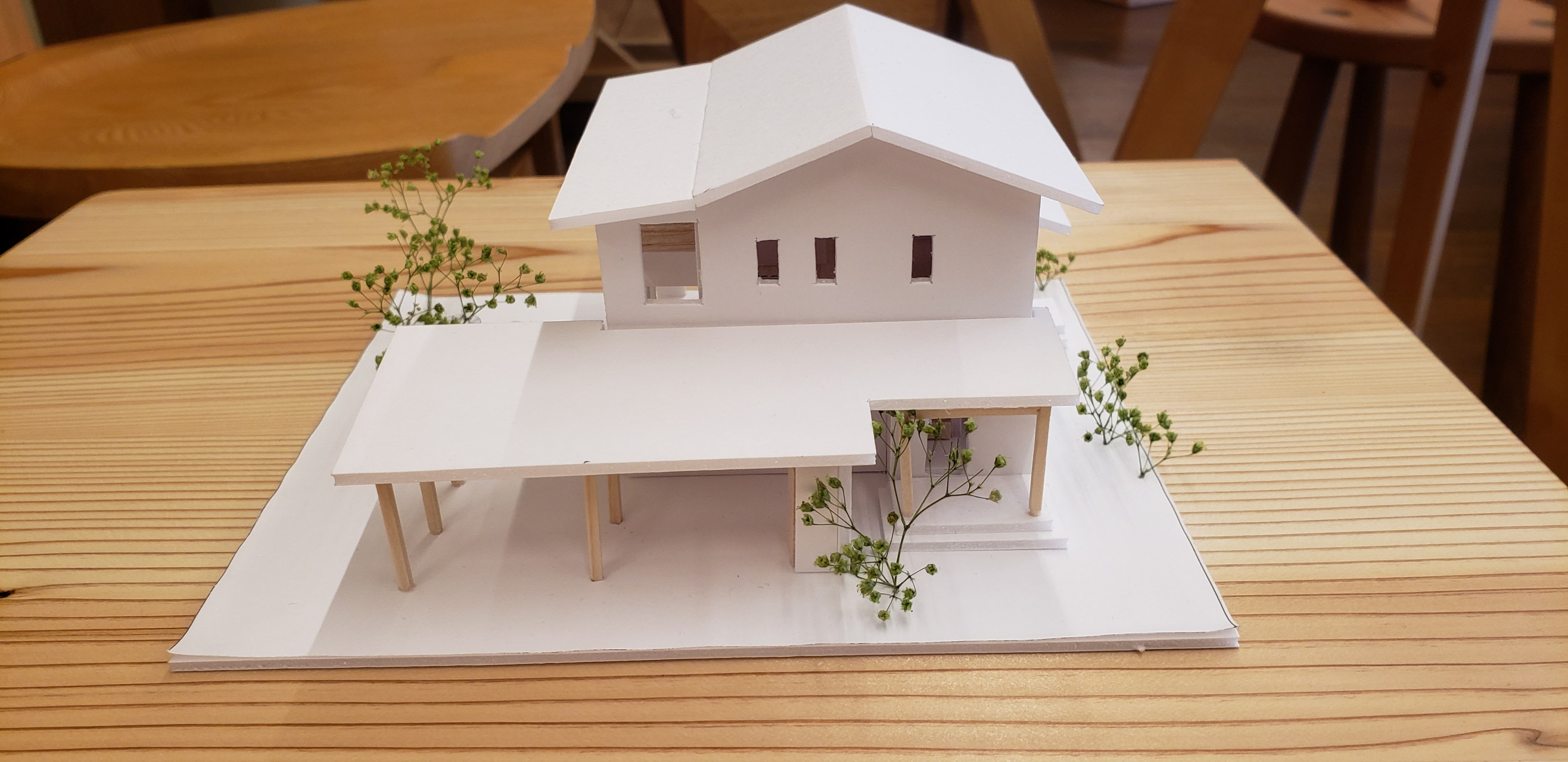 住宅模型製作第二弾