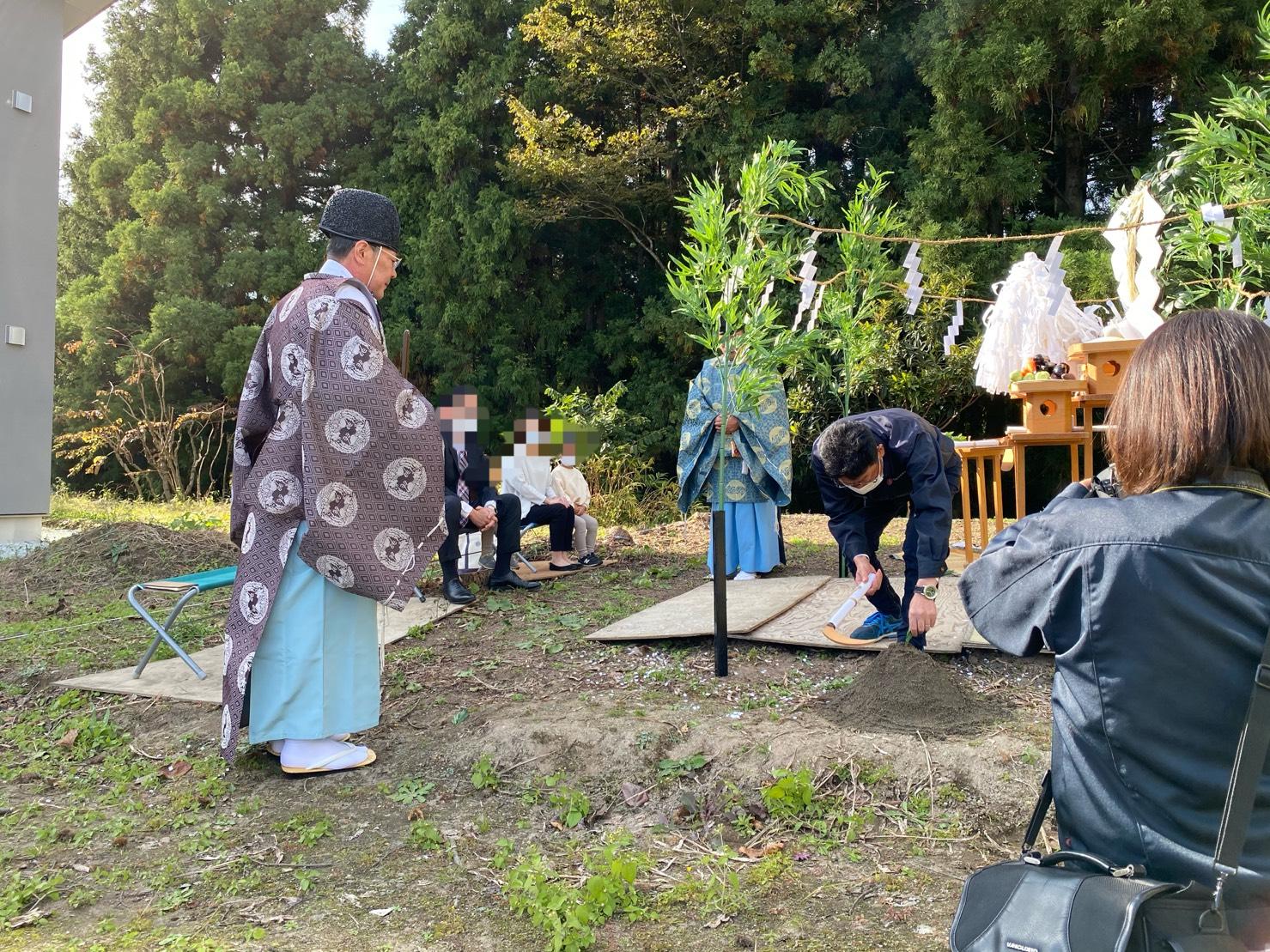 松島テラス北区地鎮祭