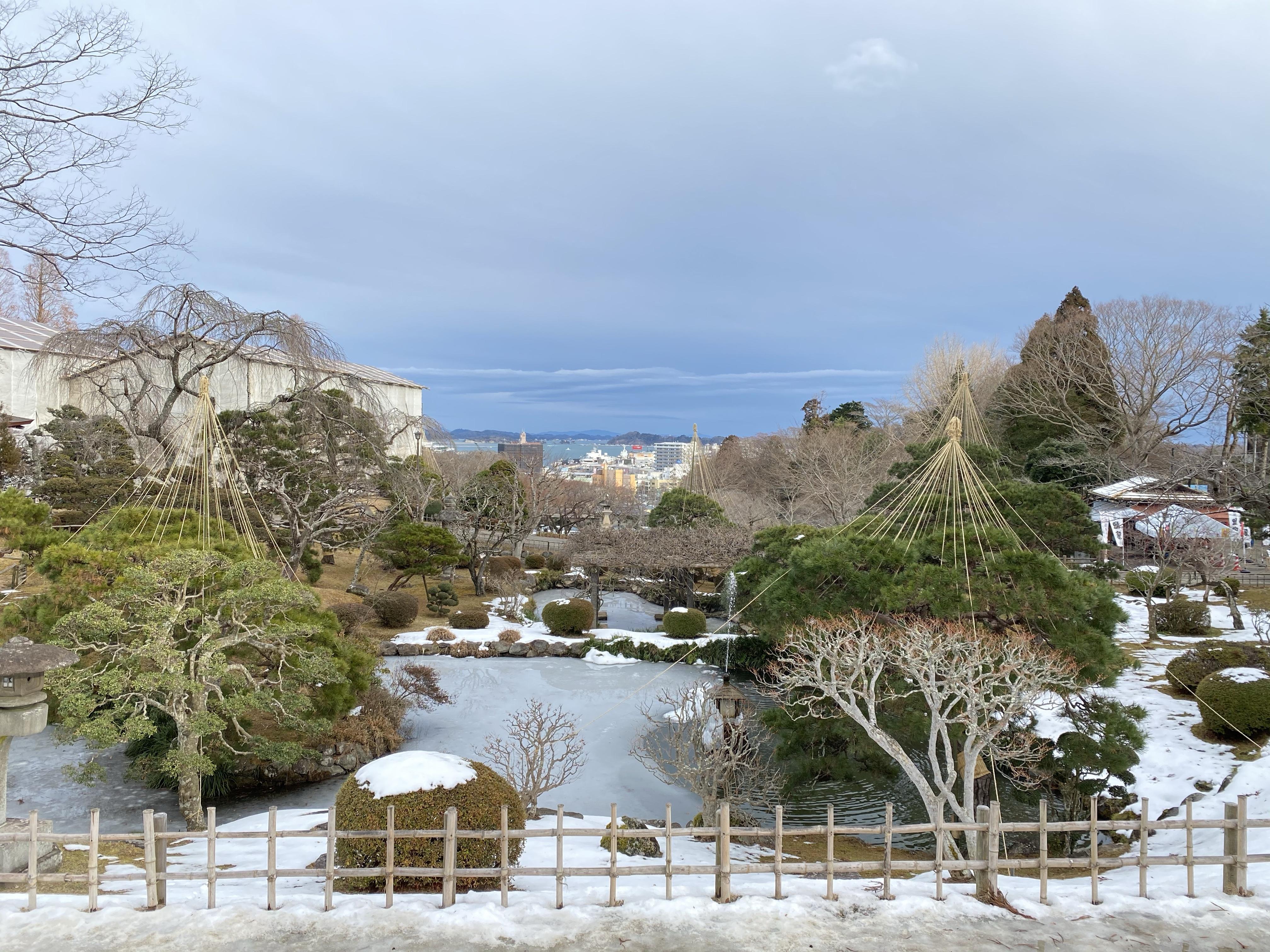 鹽竈神社へ初詣に行ってきました。